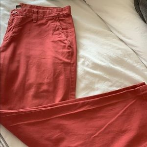Men's Red Sonoma Pants